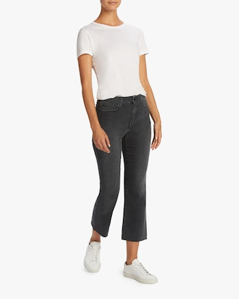 The Callie Cut Hem Jeans