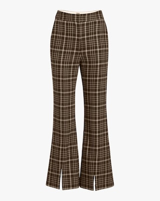 Adam Lippes Double Face Wool Bell Crop Pant 1
