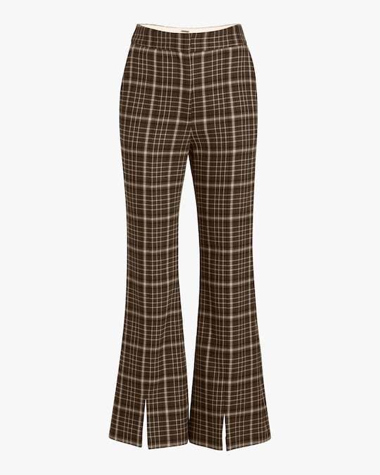 Adam Lippes Double Face Wool Bell Crop Pant 0