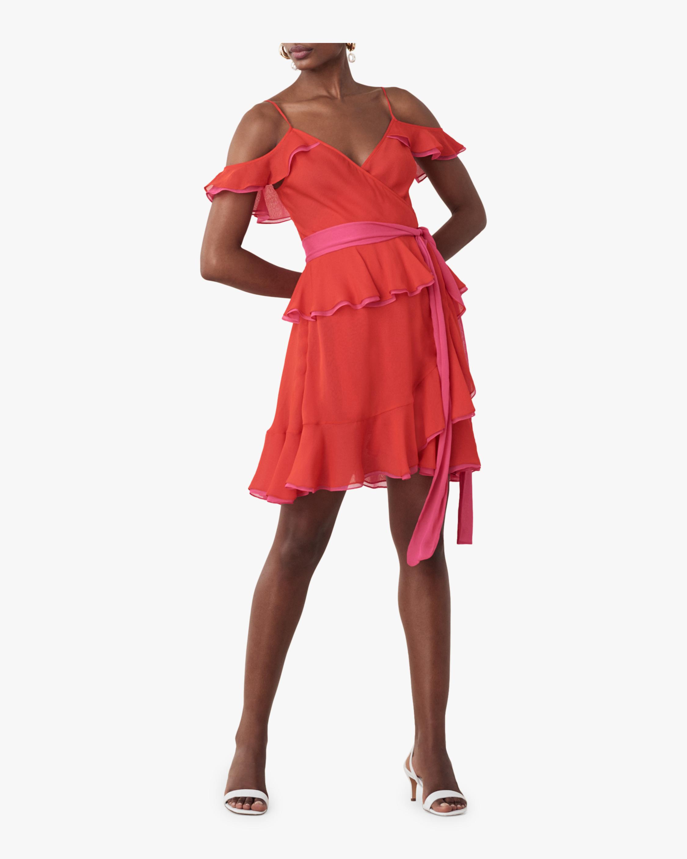 Karla Ruffled Mini Dress