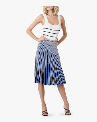 Yasmin Striped Knit Dress