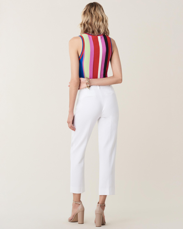 Carolina Striped Knit Top