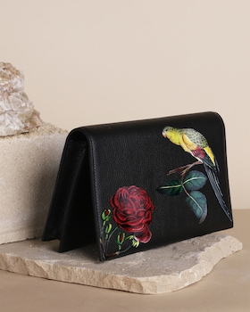 Bird & Rose Clutch