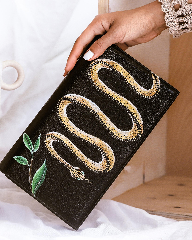 Gold Snake Clutch