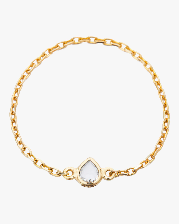 Yi Collection Diamond Rose Cut Chain Ring 2