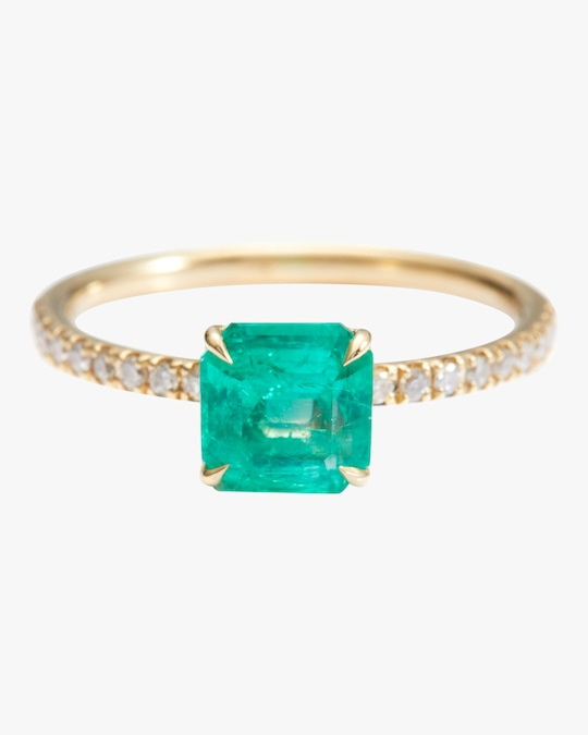 Yi Collection Emerald And Diamond Ring 0