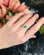 Yi Collection Emerald And Diamond Ring 1