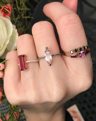 Yi Collection Pink Sapphire And Ruby Lacroix Ring 2