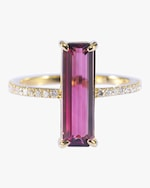Yi Collection Tourmaline And White Diamond Ring 0
