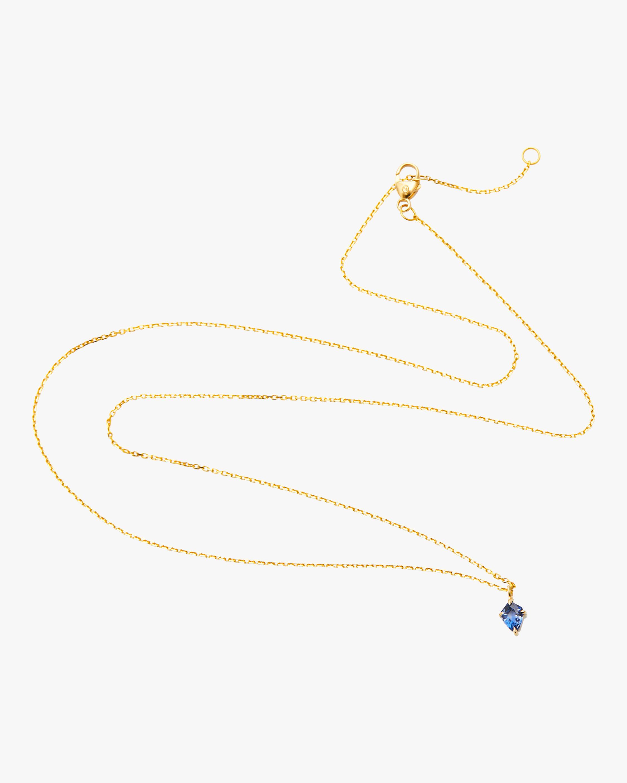 Ceylon Sapphire Kite Necklace