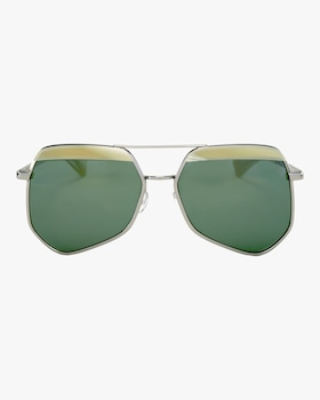 Hexcelled Hexagon Aviator Sunglasses