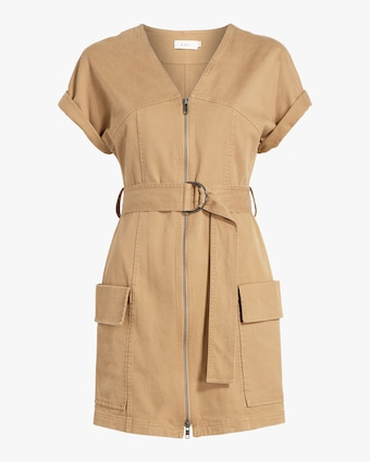 Bellamy Zip Mini Dress