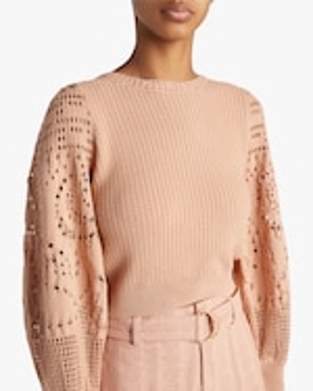 A.L.C. Sandra Crochet Top 3