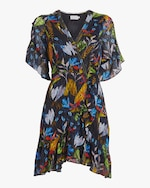 Tanya Taylor Brandy Wrap Dress 0