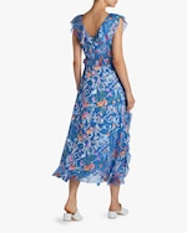 Tanya Taylor Arielle Ruffled Midi Dress 2