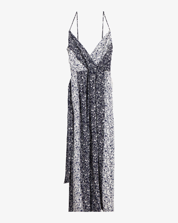 Priscilla Silk Jumpsuit