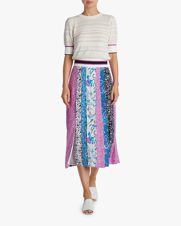 Flavia Floral Panel Skirt