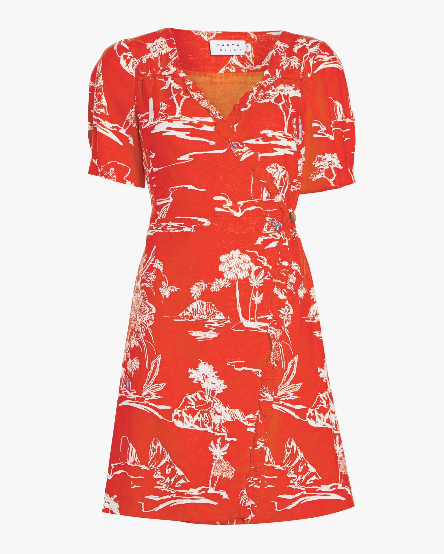 Alda Wrap Dress