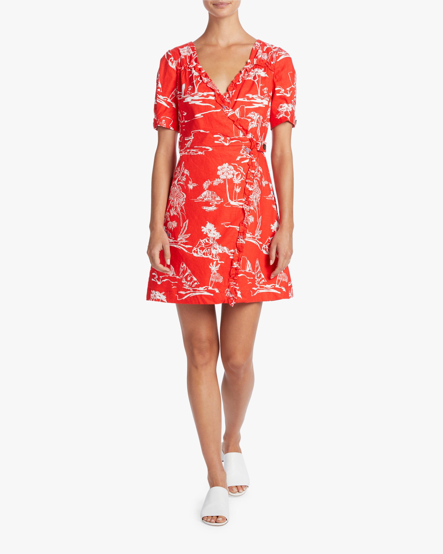 Tanya Taylor Alda Wrap Dress 1