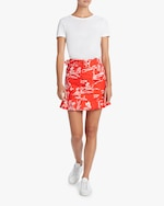 Tanya Taylor Lizette Belted Mini Skirt 1