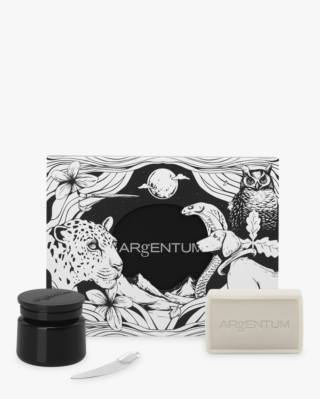 ARgENTUM apothecary Coffret de la Lune Quintessential Trio for Illuminated Skin 1
