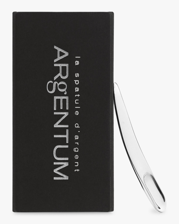 ARgENTUM apothecary La Spatule d'Argent Solid Silver Spatula 2