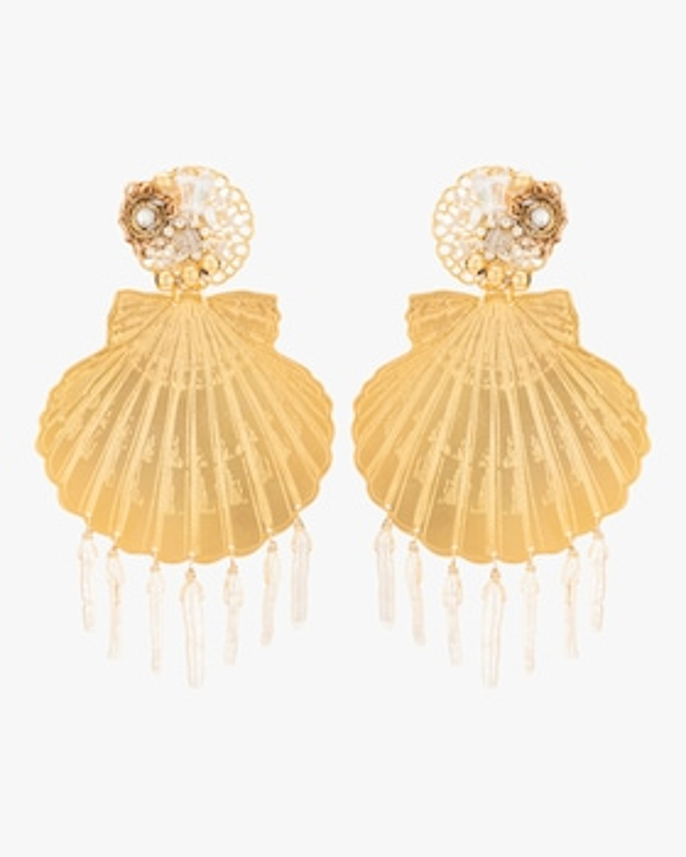 Shell Fringe Earrings