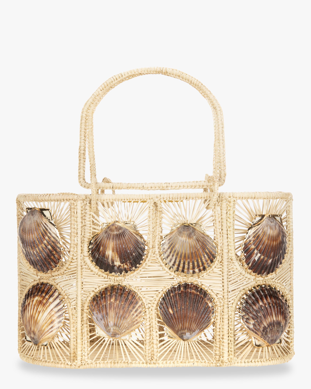 Woven Shell Handbag