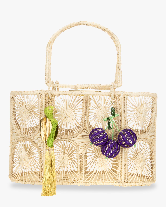 Mercedes Salazar Woven Parrot Handbag 2