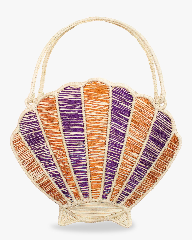 Mercedes Salazar Woven Shell Handbag 2