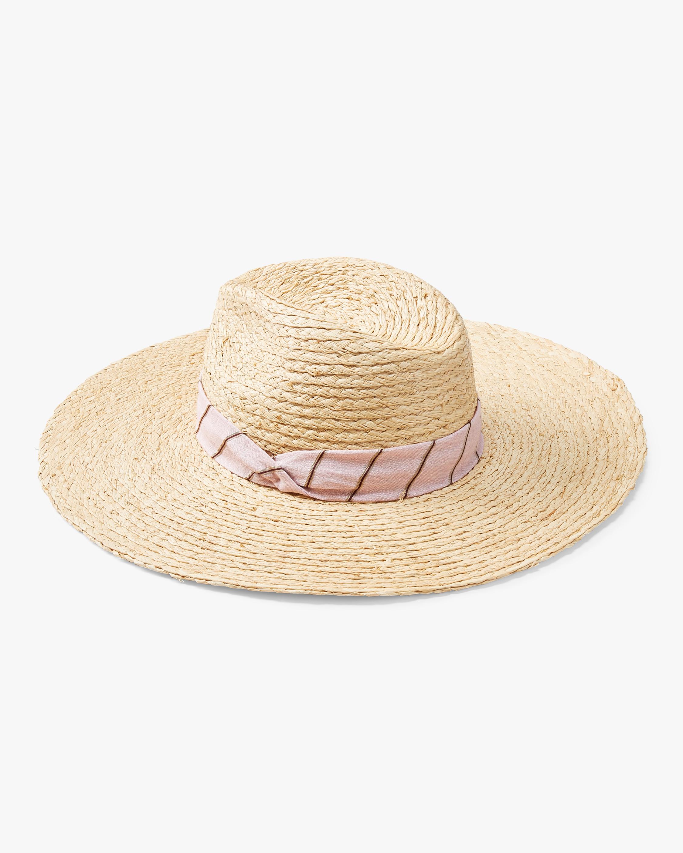 Sewn Straw Panama Hat