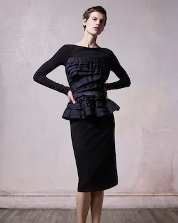 Stretch Ponte Cocktail Dress