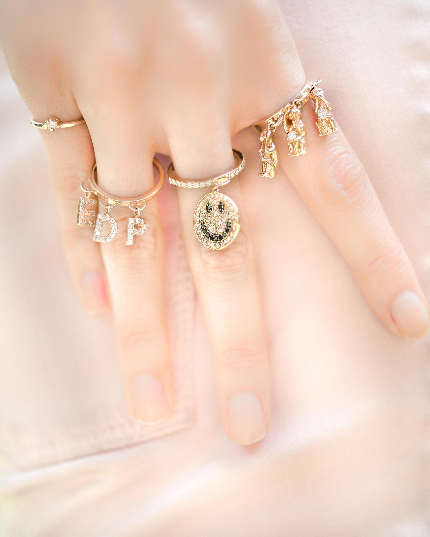 Eden Presley Large Charm Ring 2