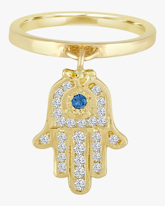 Eden Presley Large Charm Ring 0