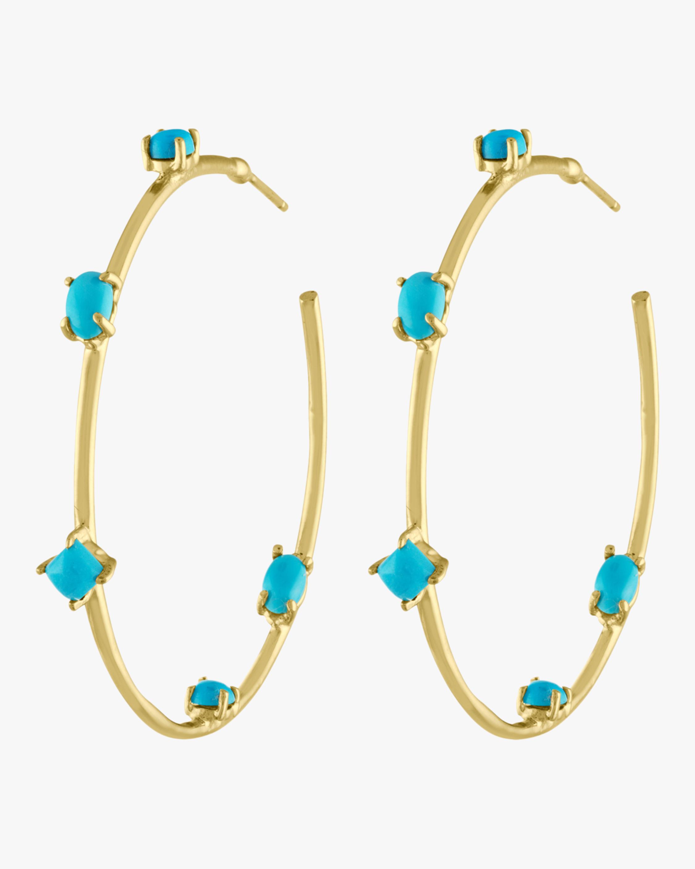 Goddess Hoop Earrings