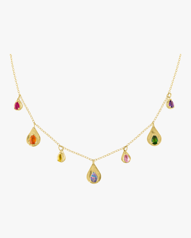 Eden Presley Teardrop Stone Necklace 0