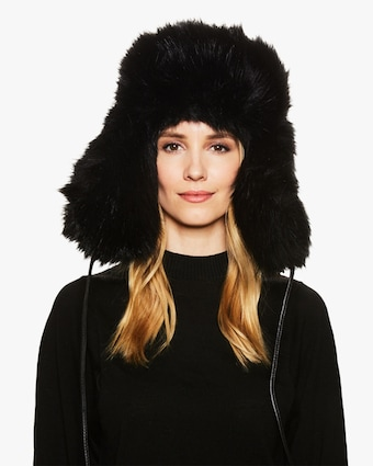 Owen Faux Fur Hat