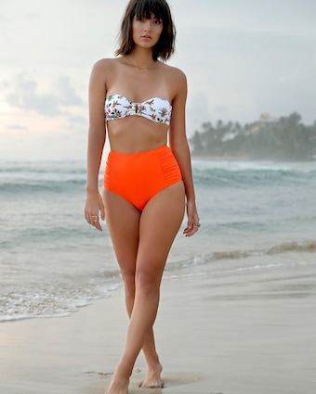 Shruti Halter Bandeau Bikini Top