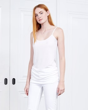 Cashmere Collection Scoop Neck Cami