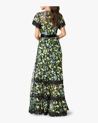 Victorious Floral Maxi Dress