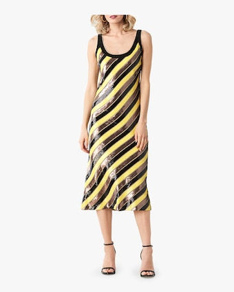 Luisa Midi Slip Dress