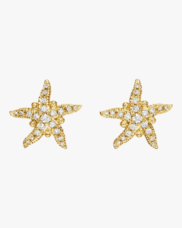 Pavé Sea Star Earrings