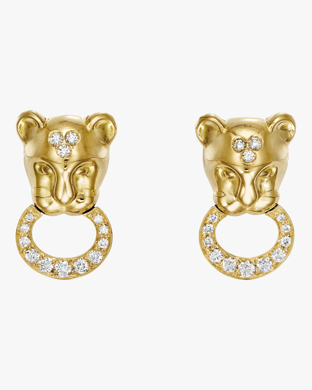 Lion Cub Earrings
