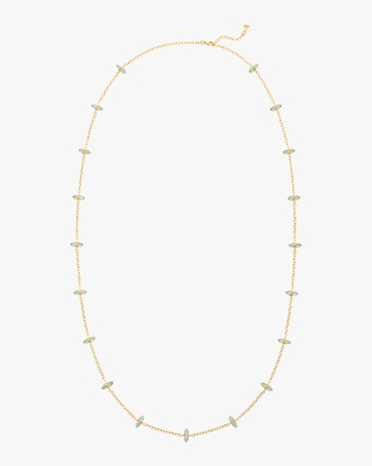 Dynasty Moon Long Chain Necklace