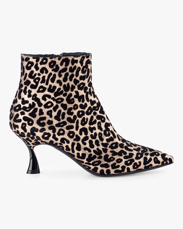 Nicole Velvet Glitter Ankle Boot