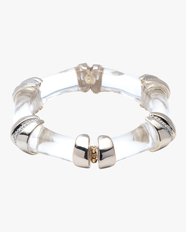 Bamboo Segmented Hinge Bracelet