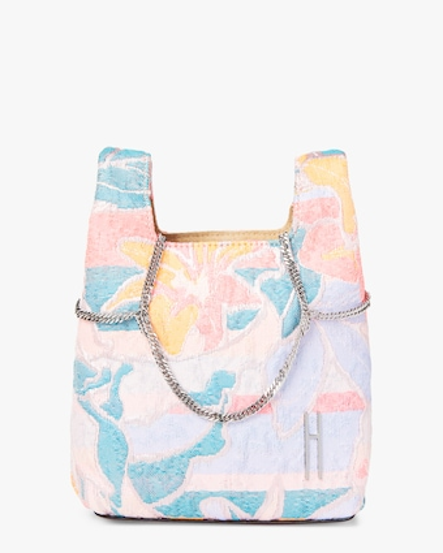 Brocade Mini Chain Bag