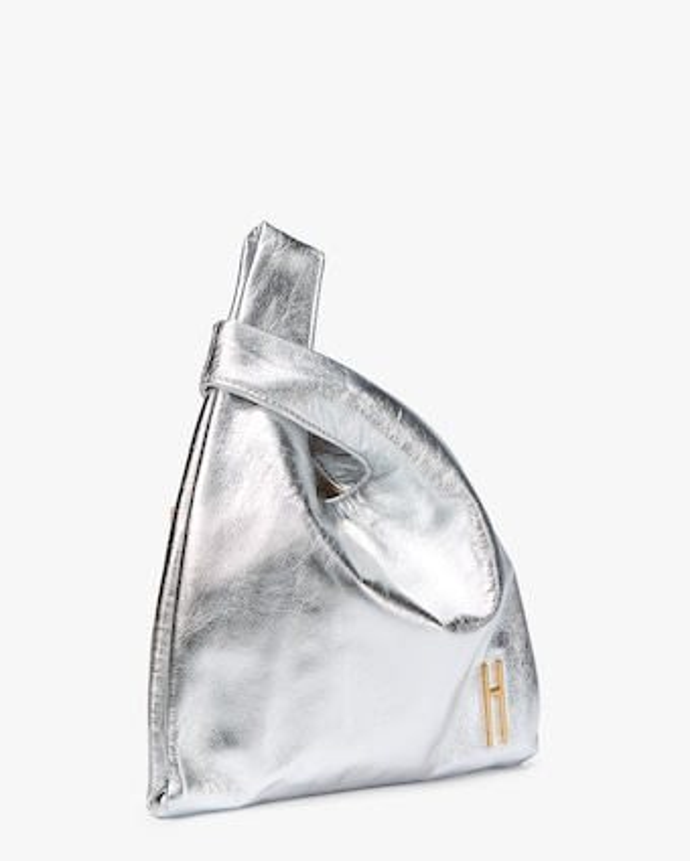 Foiled Leather Mini Shopper Bag