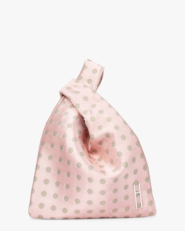 Jacquard Mini Shopper Bag