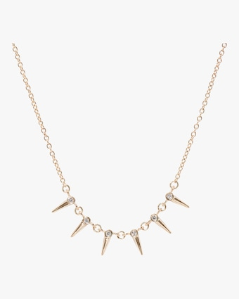 Star Point Chain Necklace